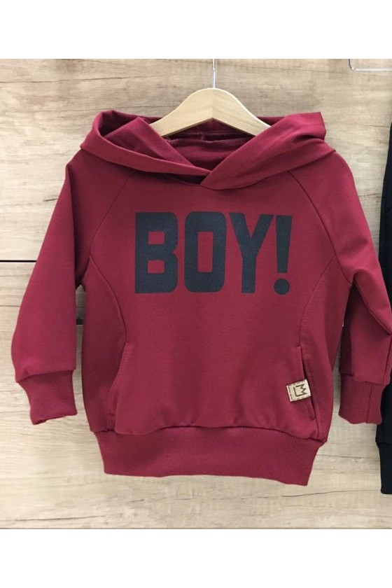 Bluza bordowa BOY MIMI