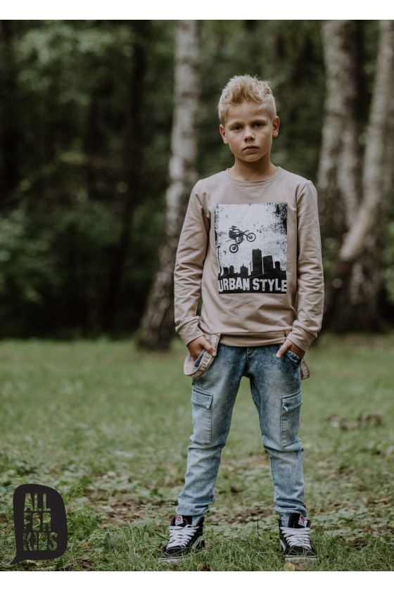 Bluza beż URBAN STYLE all for kids